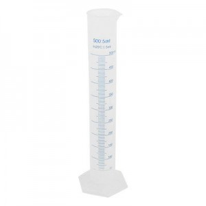 Цилиндр мерный пластиковый 500 мл
