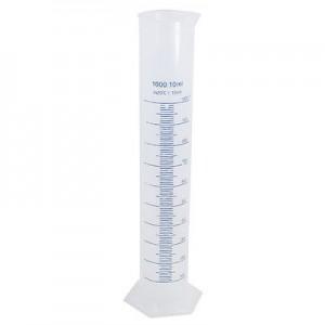 Цилиндр мерный пластиковый 1000 мл