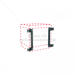 Крепление для монтажа установки Cube на стену