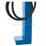 Пьедестал для установки топливораздаточной колонки CUBE синий