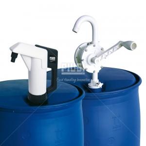 Rotative hand pump - Ручной роторный насос для бочки Производительность: 25л/мин