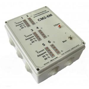 Сигнализатор многоканальный СМ 2-6